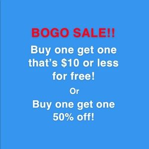HUGE BOGO SALE!!